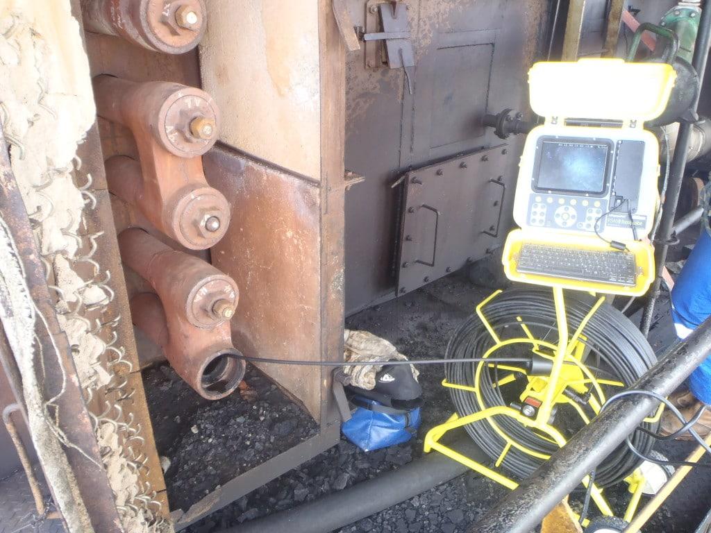 Borescope Inspection on Boiler